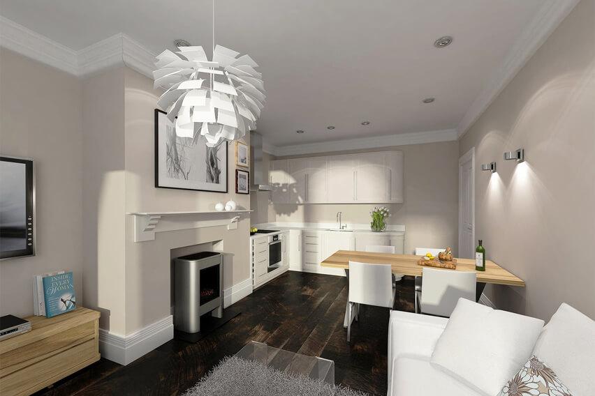 flat architect in newbury berkshire interiors
