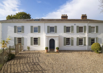 Restoration and extension of Georgian property which works for a modern family