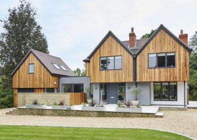 Overcoming planning objections to create a contemporary new build